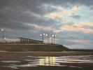 Promenade Wenduine, Öl auf Leinwand, 35 x 50_2
